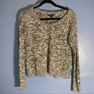 AE Sparkly Knit Gray Sweater